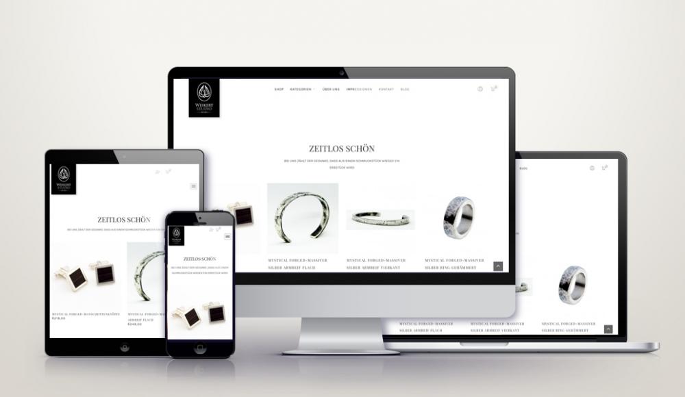 WooCommerce Online-Shop für weikertstudio.com